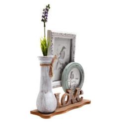 Рамка за снимки 2 в 1 и ваза