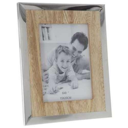 Рамка за снимки с иноксов кант на супер цена от Neostyle.bg