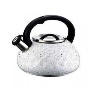 Свирещ чайник Peterhof 3 литра Сребърен