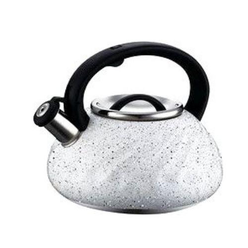 Свирещ чайник Peterhof 3 литра Сребърен на супер цена от Neostyle.bg