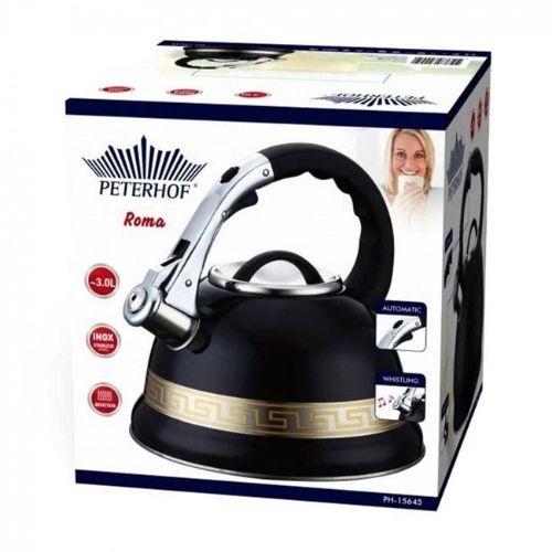 Свирещ чайник Peterhof 3 литра на супер цена от Neostyle.bg