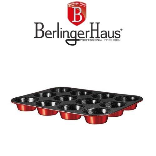 Форма за Мъфини Burgundi Metalic Line Berlinger Haus на супер цена от Neostyle.bg