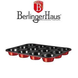 Форма за Мъфини Burgundi Metalic Line Berlinger Haus
