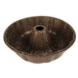 Кръгла форма за кекс с мраморно покритие