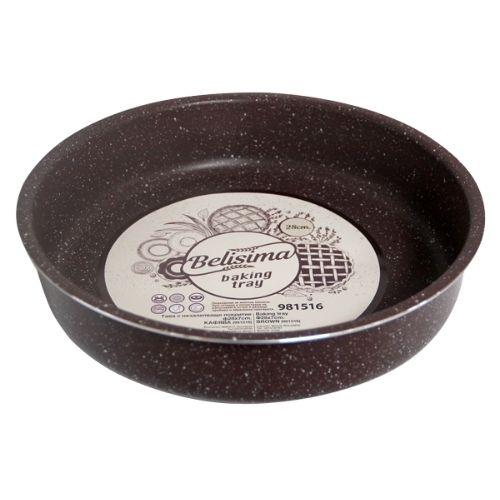 Кръгла тава за печене с мраморно покритие на супер цена от Neostyle.bg