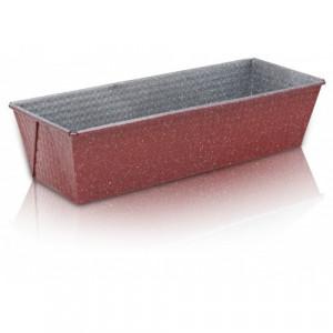 Правоъгълна тава за печене с мраморно незалепващо покритие