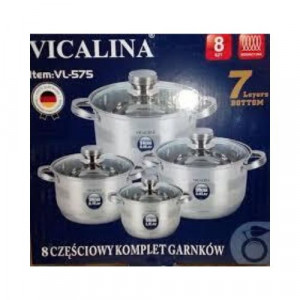 Комплект тенджери Vicalina