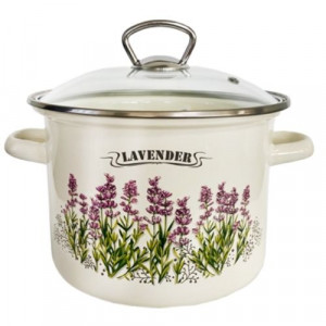 Емайлирана тенджера Lavender