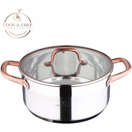 Тенджера Infinity Chefs 24 см, 4.5 л