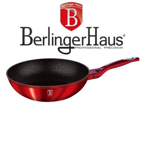Wok тиган Burgundi Metalic Line Berlinger Haus