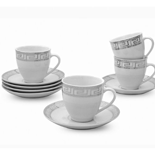 Сервиз за кафе Версаче-сребро на супер цена от Neostyle.bg