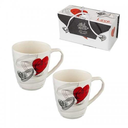 Комплект 2 чаши за кафе/чай Lancaster