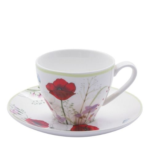 Комплект чаши за чай Poppy Garden на супер цена от Neostyle.bg