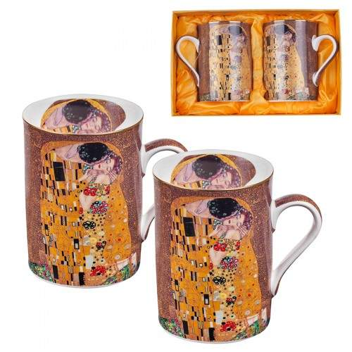 Комплект за чай от 2 чаши Целувката на супер цена от Neostyle.bg