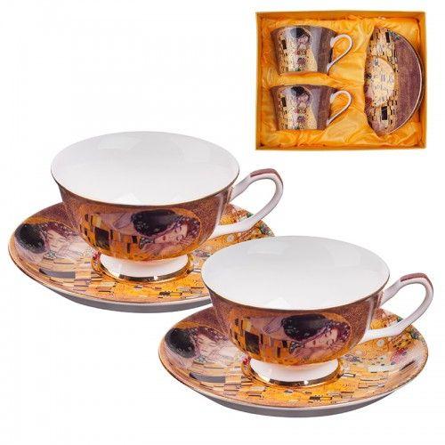 Комплект за чай Целувката на супер цена от Neostyle.bg