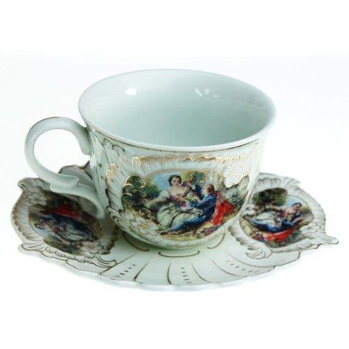 Луксозен Комплект за чай Барок