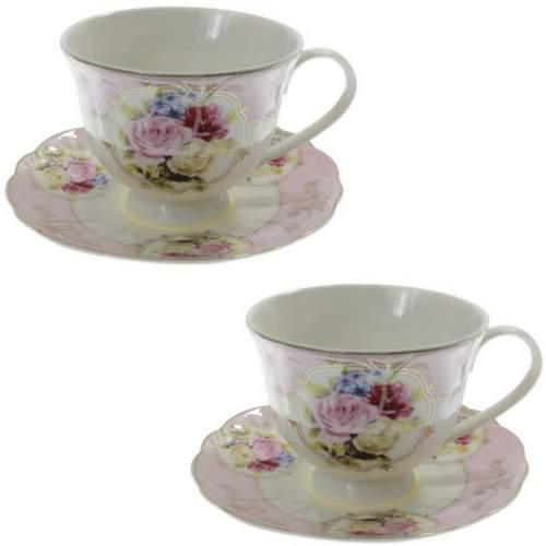 Сервиз за чай Flower collection