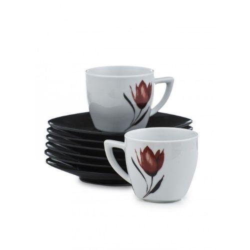 Сервиз за кафе/чай  Red tulip на супер цена от Neostyle.bg