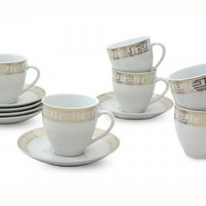 Сервиз за чай/кафе Версаче-злато
