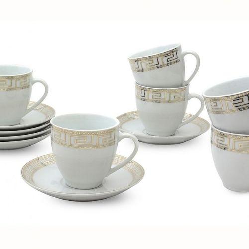 Сервиз за чай/кафе Версаче-злато на супер цена от Neostyle.bg
