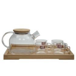 Стъклен сервиз за чай