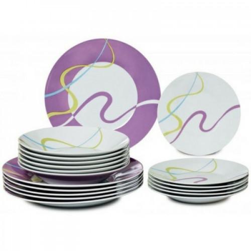Красив Сервиз за хранене 18 части на супер цена от Neostyle.bg