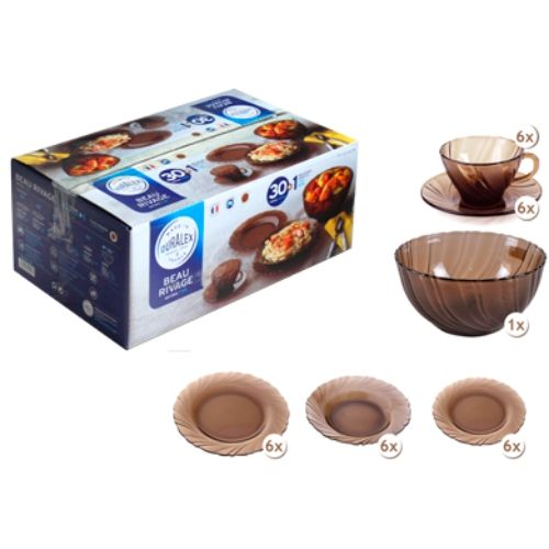 Сервиз за хранене Beau Rivage 30 части на супер цена от Neostyle.bg