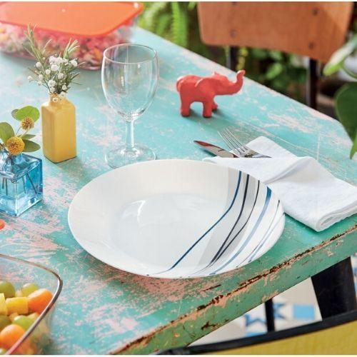 Сервиз за хранене Luminarc Athenias Blue на супер цена от Neostyle.bg