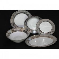Сервиз за хранене Версаче в сребро - 20 части