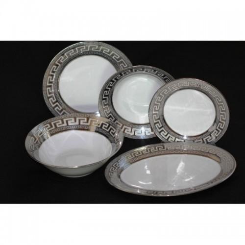 Сервиз за хранене Версаче в сребро - 20 части на супер цена от Neostyle.bg