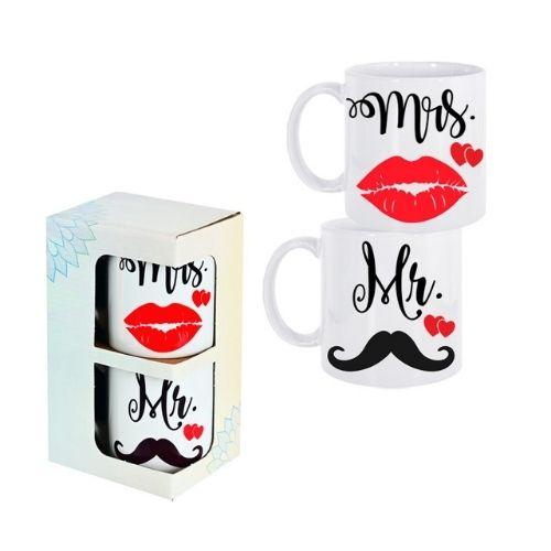Комплект чаши Mr&Mis на супер цена от Neostyle.bg