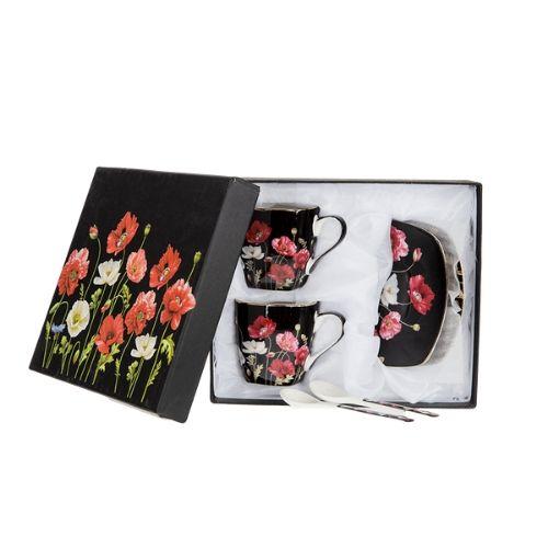 Комплект чаши за кафе Flower Collection на супер цена от Neostyle.bg