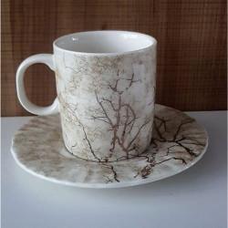 Луксозен сервиз за кафе - Гора