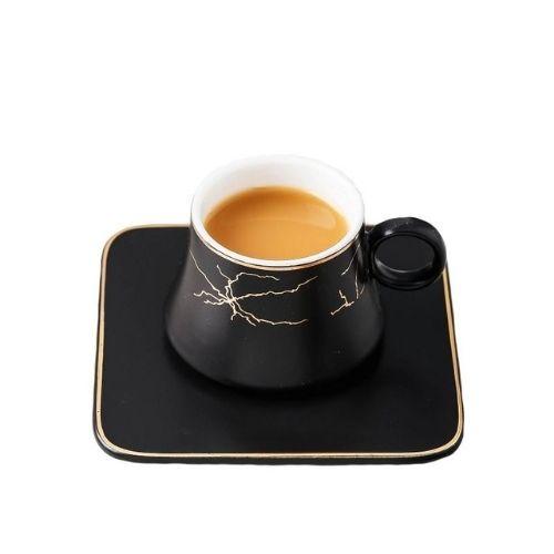 Чаши за кафе Gold handle Morellо на супер цена от Neostyle.bg