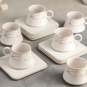 Сервиз за кафе от порцелан