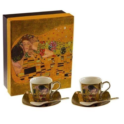 Подаръчен Комплект за кафе Целувката на супер цена от Neostyle.bg