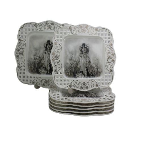 Луксозен Сет за торта Барок на супер цена от Neostyle.bg