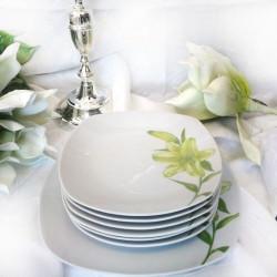Сервиз за торта Green Lilly