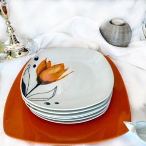 Сет за торта  Orange tulip