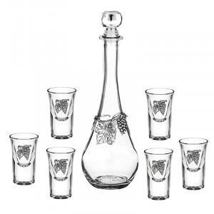 Сет бутилка + 6 чаши