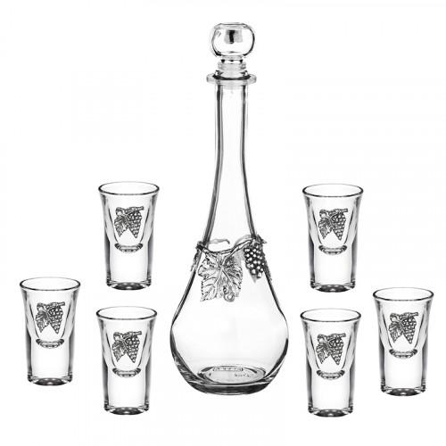 Сет бутилка + 6 чаши на супер цена от Neostyle.bg