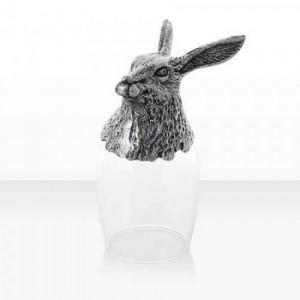 Чаша ракия заек