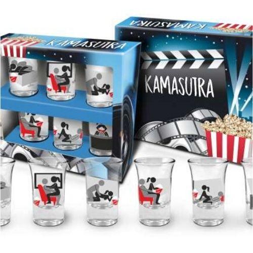 Комплект камасутра шотове в подаръчна кутия на супер цена от Neostyle.bg