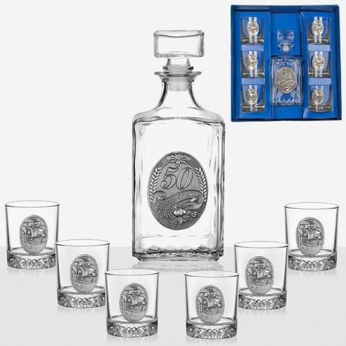 Сервиз за ракия бутилка+6 чаши  Artina на супер цена от Neostyle.bg