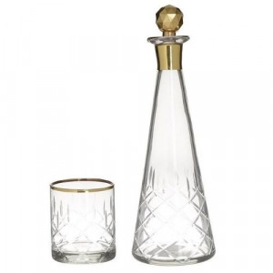 Чаши за уиски с бутилка
