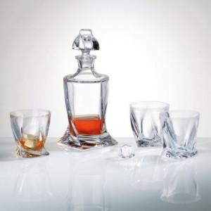 Сервиз за уиски с гарафа Bohemia