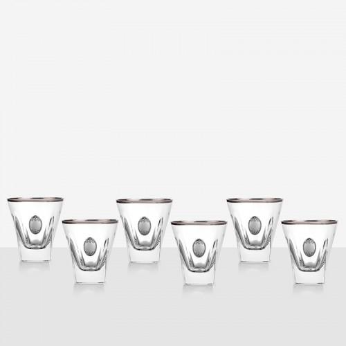 Сет за уиски сребърна плочка fusion на супер цена от Neostyle.bg