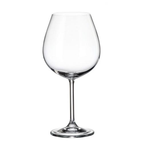 Чаша за червено вино 650ml - Colibri Bohemia на супер цена от Neostyle.bg