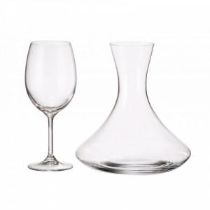 Гарафа и 6 бр чаши Bohemia