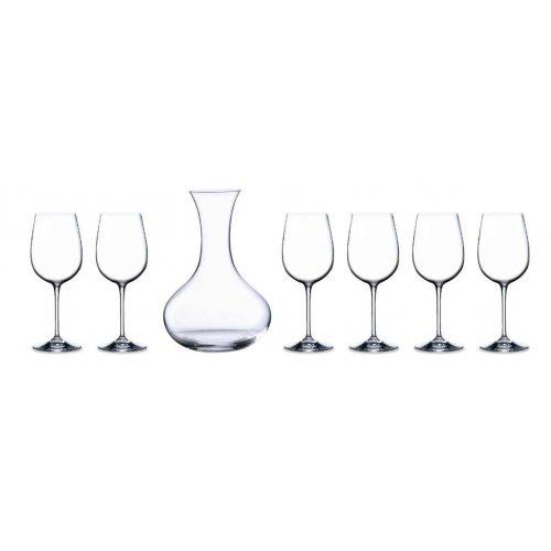 Комплект декантер Somelier с 6 чаши за червено вино